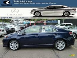 lexus hs 250h 2017 2011 deep sea blue mica lexus hs 250h hybrid premium 55622043