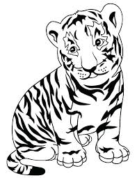 coloring page tiger paw tiger coloring sheets mstaem org