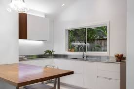 small contemporary kitchens design ideas small contemporary kitchen makes room for home office and laundry