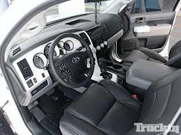 Toyota Tundra Interior Accessories 2008 Toyota Tundra Fever Pitch Lifted Trucks Truckin Magazine