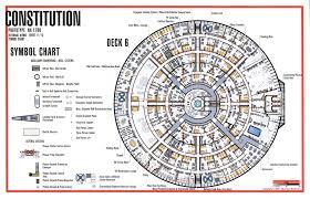 star trek starship deck plans