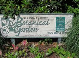 Georgia Botanical Garden by Entry Gate Georgia Southern Botanical Garden In Statesboro
