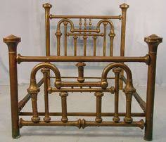 antique full size brass bed frame by newyorkcitychic on etsy