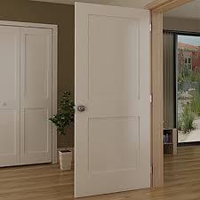 Slab Interior Door Kiby Shaker 2 Panel Wood Slab Interior Door Reviews Wayfair