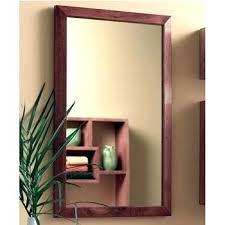 Recessed Medicine Cabinet Wood Door Cool Wood Recessed Medicine Cabinet Mybabydeer Me