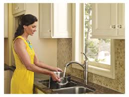 Brantford Kitchen Faucet by Faucet Com 7295srs In Spot Resist Stainless By Moen