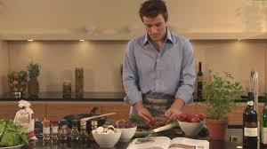 faire une cuisine homme femme faire la cuisine mise en scène sd stock