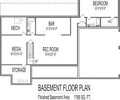 house plans one story awesome basement home office as wells as basement one level house