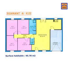 plan maison 4 chambres plain pied gratuit plan de maison individuelle plain pied