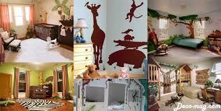 chambre jungle enfant la décoration de chambre de garçon déco mag