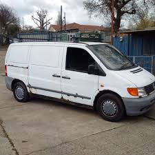 mercedes benz vito 110 cdi double sliding door 3 seats panel van