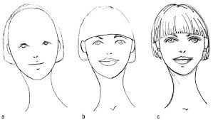 how to draw various hairstyles on female fashion figures dummies