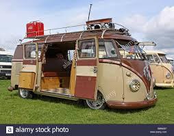 volkswagen 2017 campervan brown vw camper van stock photo royalty free image 24434599 alamy