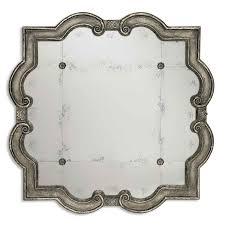 prisca small mirror uttermost wall mirror mirrors home decor