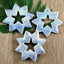 diy snowflake ornaments see how to make these salt dough