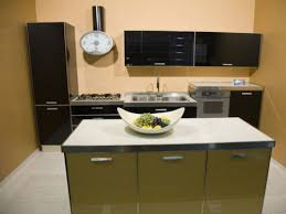 one wall kitchen with island small one wall kitchen with rectangular island best ideas for