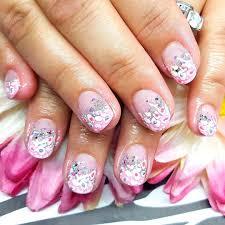pink and silver nail art designs images nail art designs
