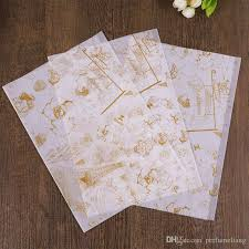 hamburger wrapping paper 28 38cm food grade wax paper coating greaseproof for