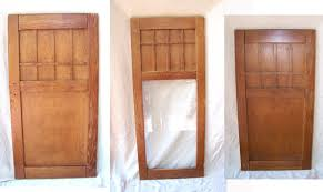 Arts And Crafts Cabinet Doors Items Similar To Mission Arts Crafts Cabinet Doors Craftsman Oak