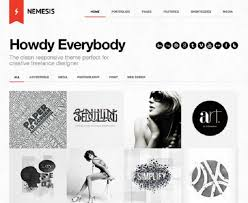 15 best wordpress themes for graphic designers