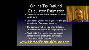 individual income tax return filing u0026 calculator 2012 2013 youtube