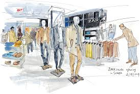 Sample Resume For Zara by Zara Brings Spanish Flair For Fashion To Seattle The Seattle