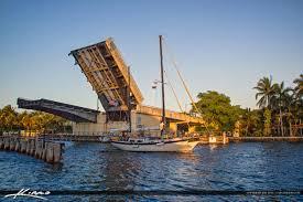 boca raton draw bridge sailboat