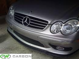 mercedes c32 amg review mercedes w203 c32 amg w209 clk55 amg carbon fiber front lip spoiler