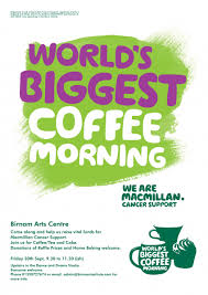 Charity Letter For Raffle Prizes macmillan world s biggest coffee morning friday 30th september