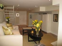 simple basement themed feat neutral interior idea filled with