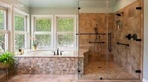 Wheelchairfriendly Bathroom Remodel YouTube - Handicapped bathroom designs