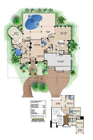 Mediterranean Floor Plan 107 Best Mediterranean House Plans Images On Pinterest Home