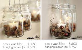 Pottery Barn Fall Decor - diy fall decor with hanging mason jars live laugh rowe