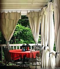 Patio Curtains Outdoor Heavy Duty Outdoor Curtains Outdoor Curtains Made From Drop Cloths