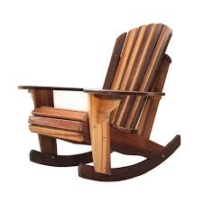 Wooden Rocking Chair Dimensions Handcrafted Adirondack Cedar Rocker Chairs U0026 Adirondack Cedar