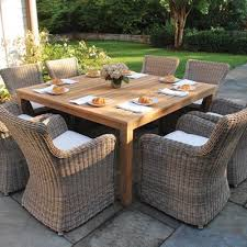 outdoor wicker dining table stylish all weather wicker patio chairs with top 25 best outdoor
