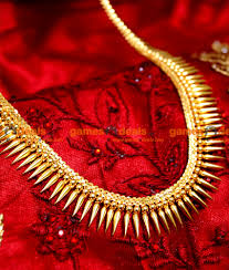 arrg09 gold plated jewellery traditional mullai poo design aaram
