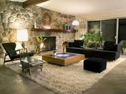 home design ideas with cape cod interior design midcityeast impressive stone wall for rustic home design ideas with wide oak coffee table and back sofa
