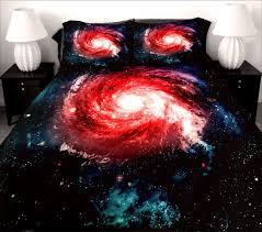 sleep among the stars with galaxy bedding sets