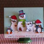 make your own christmas cards how make a christmas card christmas lights decoration intended