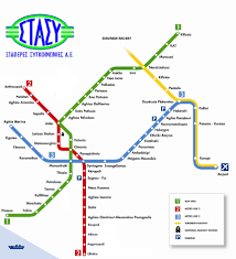 Metro Line Map by Public Transportation Maps Of Athens Travel Guide Welcome
