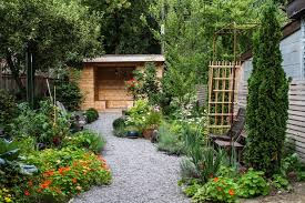 Gravel Landscaping Ideas Gravel Landscaping Ideas Landscape Traditional With Wood Slat