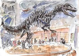 some sketches at seodaemun museum of natural history seoul