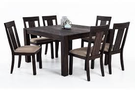 bobs furniture kitchen table set summit 54 x 54 7 dining set bob s discount furniture