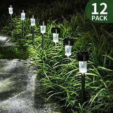solar lights landscaping amazon com ecocity solar lights outdoor garden light landscape