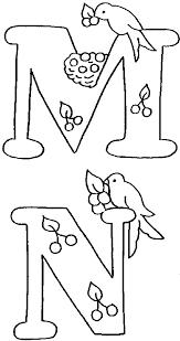 coloriage alphabet alphabet oiseaux à colorier allofamille