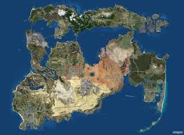 Giant Map High Resolution Version Of Gta U0027s Perfect Map Gaming