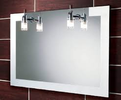 Bathroom Mirrors With Lights Attached Bathroom Mirror With Attached Shelf Mirrors Lights Lighted Light