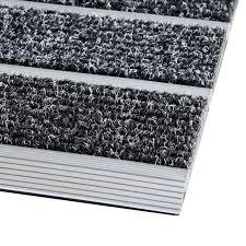 cadre paillasson interieur paillasson inox 2 profilés finition reps tapistar fr