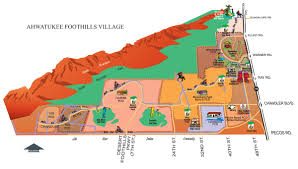 Phoenix Area Zip Code Map by Ahwatukee Map Maps Depicting Location Of Ahwatukee Village